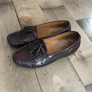 Cole Haan Pinch Shawl Bow Leather Penny Loafers